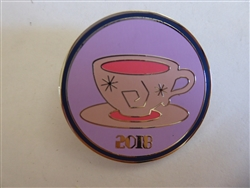 Disney Pin Disney Parks *2018* Attraction Booster Set Mad Tea Party Teacup!