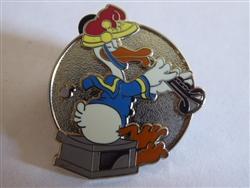 DLR 2010 Hidden Mickey Band Concert Donald Duck Disney Pin 75077